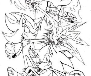Sonic the hedgehog, shadow the hedgehog, and silver the hedgehog image