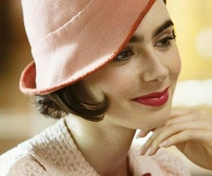 lily collins, the last tycoon, and celia brady image
