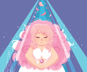 rose quartz and steven universe image