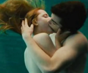 Across the Universe, kissing, and beatles image
