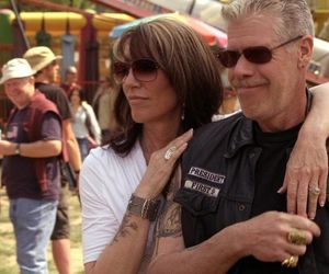 boy, girl, and sons of anarchy image