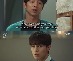 goblin, kdrama, and quote image