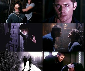 dean winchester, edit, and purple image