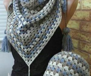 crochet, women, and gorro image
