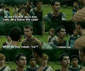 funny, teen wolf, and thomas image