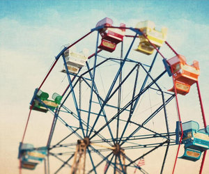 carnival, carnival ride, and color image