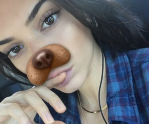 kendall jenner, snapchat, and jenner image