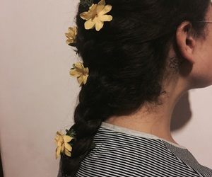 curly, flora, and girl image