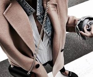 beautiful, coat, and look image