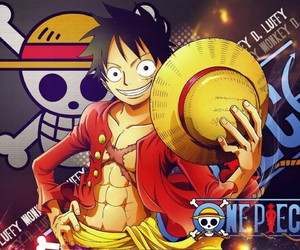 anime, pirates, and one piece image