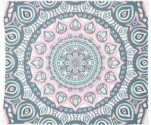 etsy, mandala wall art, and mandala tapestry image