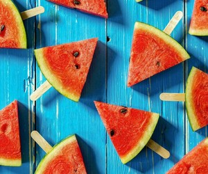 melon, watermelon, and summer image