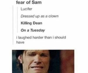supernatural, Sam, and spn image