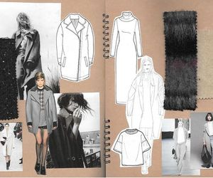 design, fashion, and drawing image