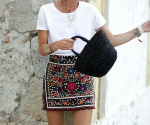 fashion, skirt, and style image