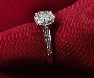 ring, engagement ring, and matty image