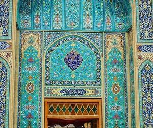 blue and عرب image