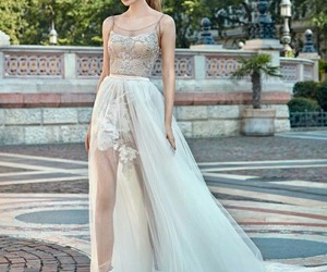 fashion, outfit, and wedding image