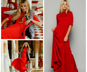 dolce maxi dress image