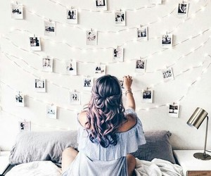 girl, photo, and hair image