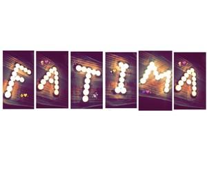 fatima, شموع, and ﺭﻣﺰﻳﺎﺕ image