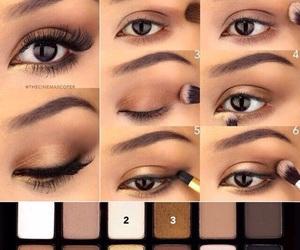 makeup, make up, and mascara image
