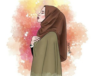 girl and hijab image