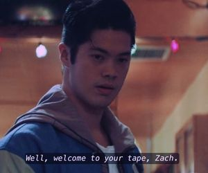 quotes, subtitles, and tape image