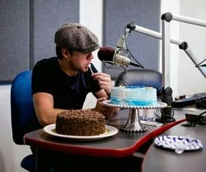 blue, cake, and chocolate image