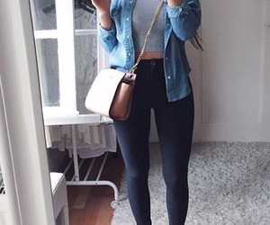 fashion, outfits, and jean image