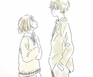 anime girl, couple, and japan image