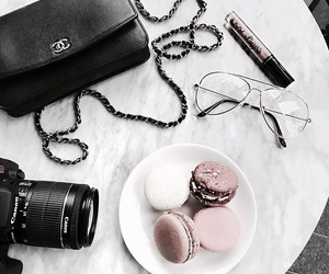 vogue, fashion, and food image