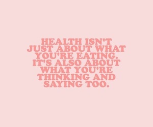 quotes, health, and pink image