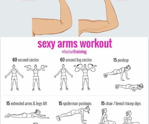 sport, arm, and girl image