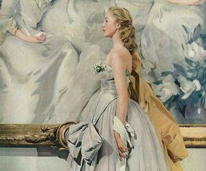 art, dress, and vintage image