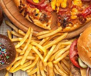 food, fast food, and burgers image