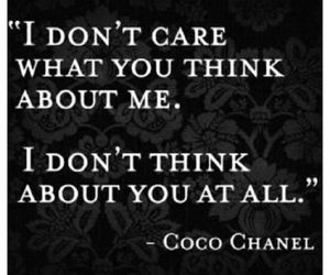 quote, coco chanel, and text image