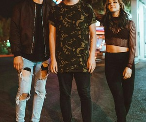 bands, rock bands, and against the current image