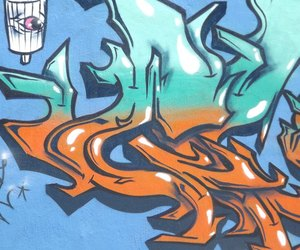 aerosol, street art, and street graffiti image