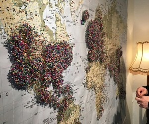 travel, world, and traveling image