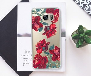 cases, roses, and samsung image
