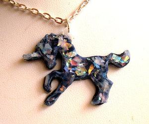 etsy, polymer clay, and glitter unicorn image