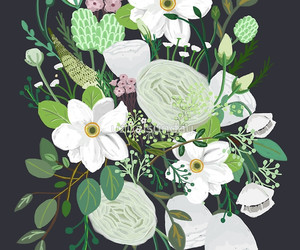 floral, flower, and flowers image