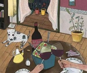 art and wine image