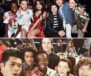 eleven, millie bobby brown, and lucas sinclair image