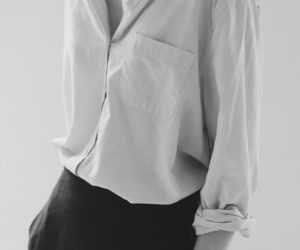 black and white, classy, and clothes image