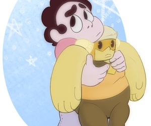 fave, topaz, and steven universe image