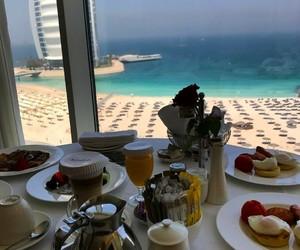 breakfast, Dubai, and food image