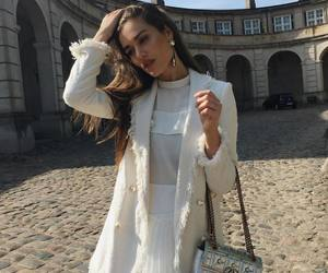 white, classy, and fashion image
