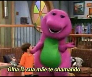 barney, brazil, and facebook image
